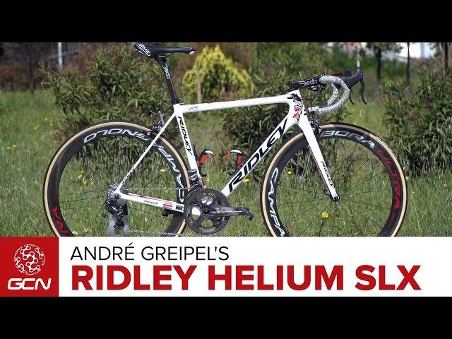 Andr 233 Greipel S Ridley Helium Slx Pro Bike Gcn