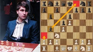 Ivanchuk Plays A Weird Move Just to Annoy Kasparov