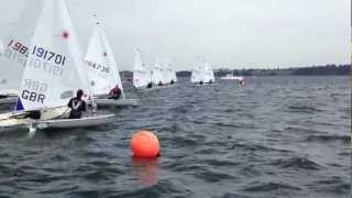 preview picture of video 'Starcross Yacht Club Laser  Open'