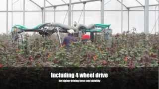 preview picture of video 'Micothon EX Greenhouse Spraying Robot 2013 - Kenya'