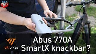 Abus 770A SmartX - smartes Bügelschloss von Abus - vit:bikesTV
