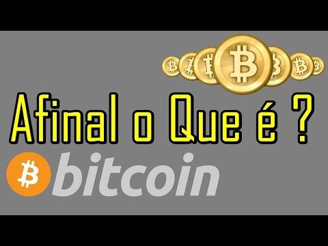 Afinal o Que é Bitcoin - Satisfação Aos Inscritos