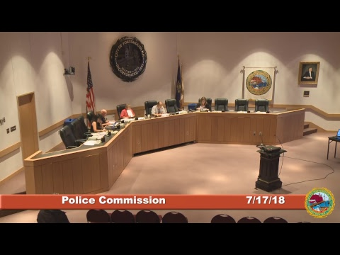 Police Commission7.17.18