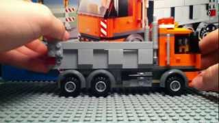 preview picture of video 'Lego city dump truck reveiw'