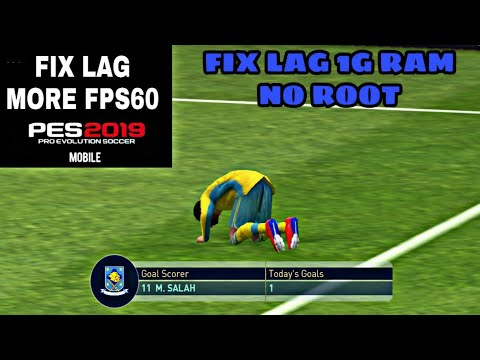 HOW TO FIX LAG IN PES 19 MOBILE || 1 MINUTE TUTORIAL || SMOOTH