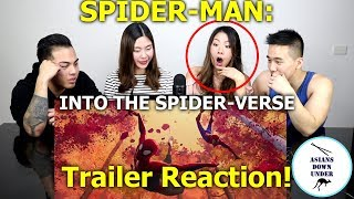 SPIDER-MAN: INTO THE SPIDER-VERSE - Official Trailer (HD) | Reaction - Australian Asians