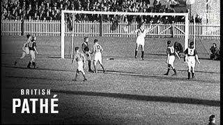 Australia V Palestine Football Match (1939)