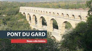 Água histórica em Pont du Gard