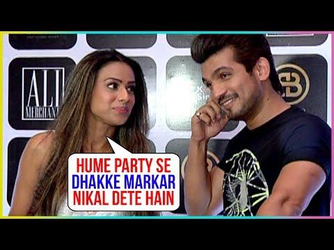 Nia Sharma And Arjun Bijlani Make Fun Of Each Othe