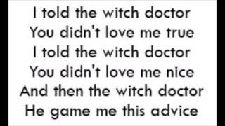 a witch doctor song - मुफ्त ऑनलाइन वीडियो