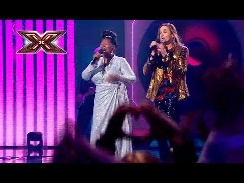 Группа Yurcash и Liz Mitchell (Boney M.) – Sunny – Х-Фактор 8. Седьмой прямой эфир. ФИНАЛ