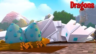 LIGHTFURY FROST IS HAVING BABIES? - Minecraft How to train your Dragon