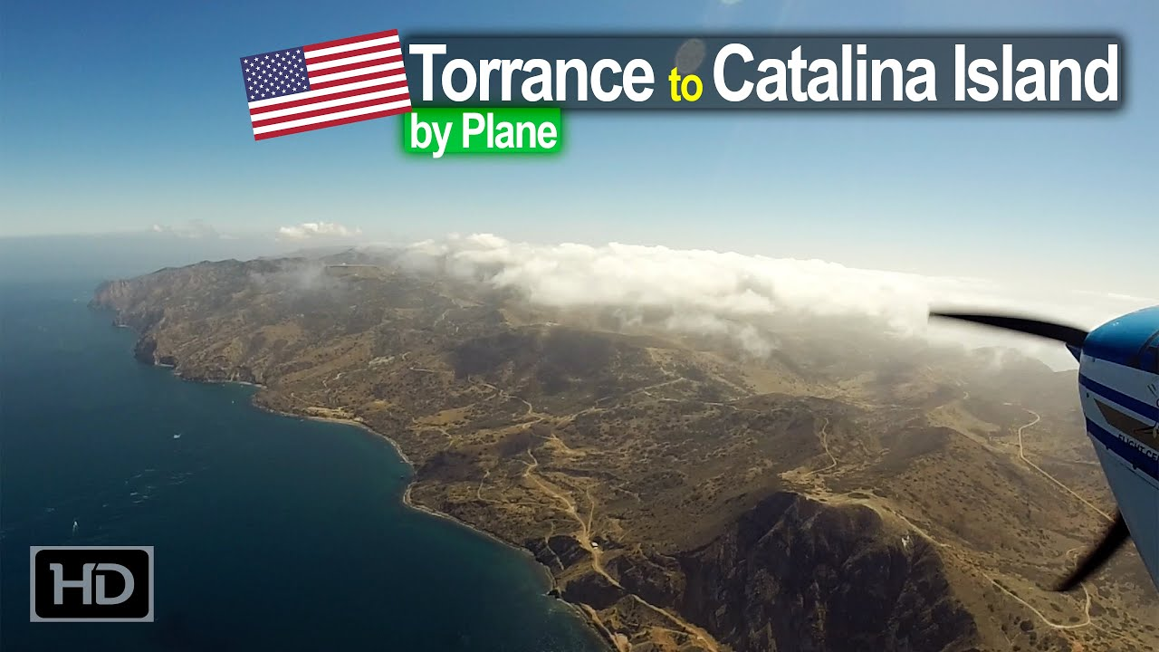 Flying from Torrance California to Catalina Island for Lunch