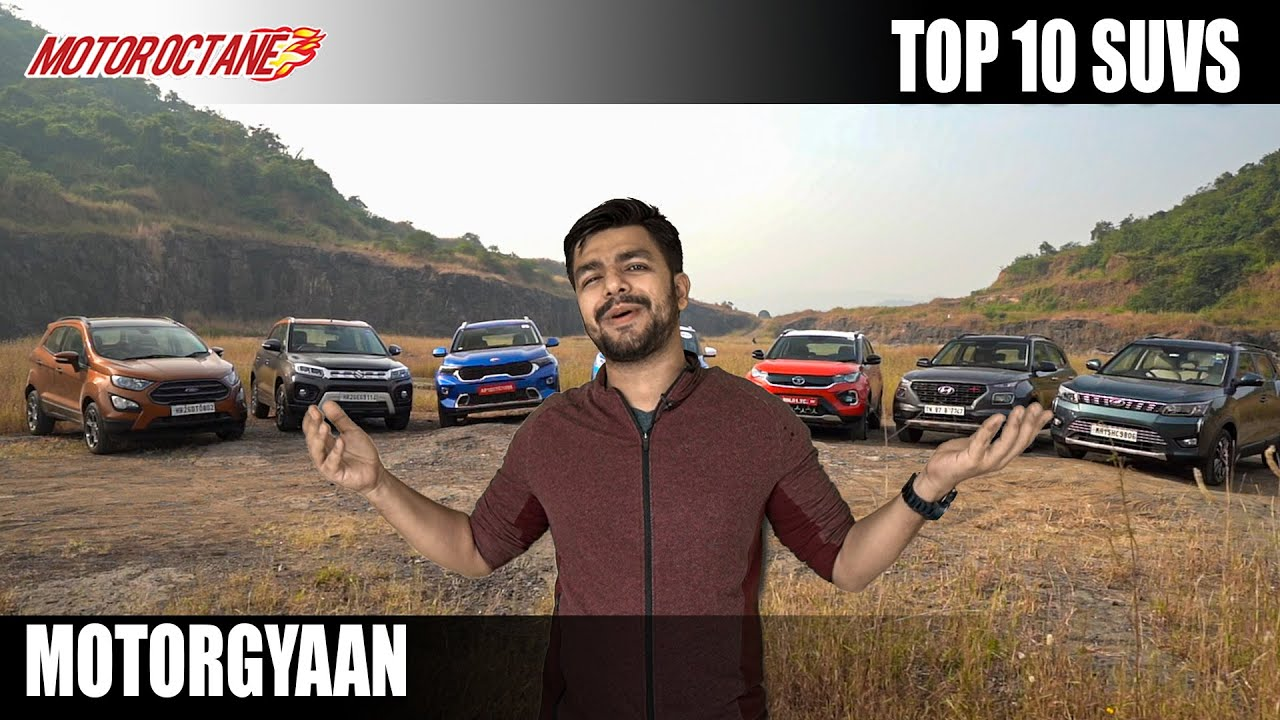 Motoroctane Youtube Video - Top 10 SUVs in India - Which are those?