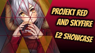 Projekt Red  - (Arknights) - Arknights: Projekt Red & Skyfire E2 SHOWCASE!! (That art tho)