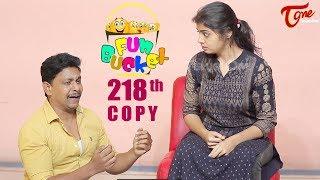 Fun Bucket   218th Episode   Funny Videos   Telugu Comedy Web Series   Nagendra K   TeluguOne