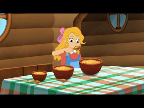 Златовласка и три медведя - сказка   Сказки для детей   Мультик   сказки на ночь