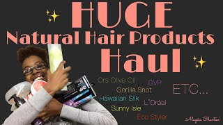 $150 Natural Hair Products Haul!| Ft Sally Beauty and Walmart| Alaysia Chantae'