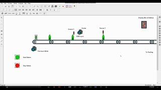 PLC S7 200 | PC Simu | Bottle Conveyor System