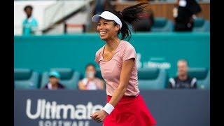 Hsieh Su-Wei   2019 Miami Open Fourth Round   Shot of the Day