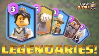 LEGO Clash Royale LEGENDARIES!!! (Showcase)