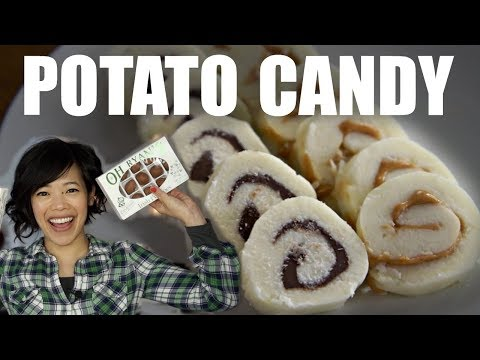 DIY Old Fashioned POTATO CANDY & Irish Potatoes Taste Test