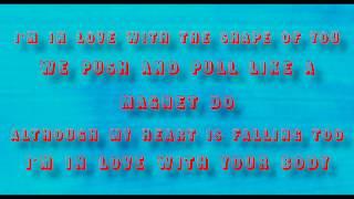 Ed Sheeran - Shape of You (Stormzy Remix) [Lyrics Music Video]