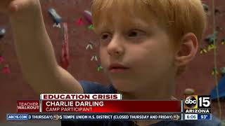 ABC15 looks at some of the activities keeping kids busy during the walkout