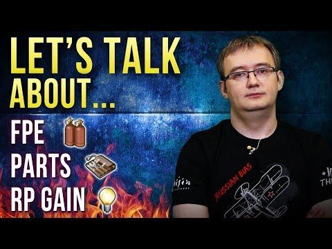 Developer commentary: FPE, Parts & RP Gain / War Thunder
