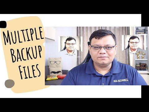 Multiple Backup Copies Stripped – SQL in Sixty Seconds #156