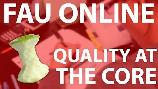 Quality at the Core: Find out how FAU online courses are a cut above the rest.
