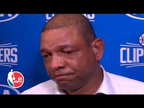 Doc Rivers in tears after hearing about death of Kobe Bryant   NBA Sound