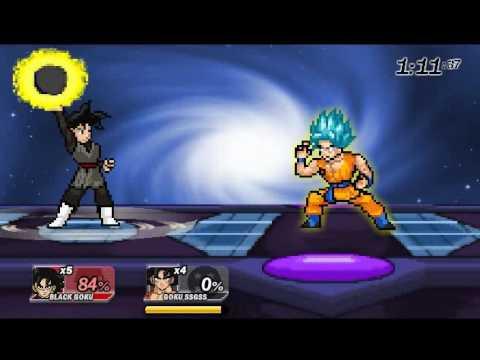 SSF2 MOD: Black Goku Versión 2!!! - CrashMods SSF2 - THFilm pro