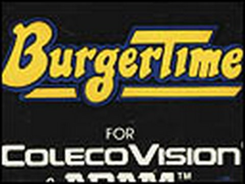 Classic Game Room HD - BURGERTIME for ColecoVision review
