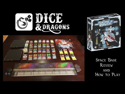 Dice and Dragons - Space Base Review and How to Play