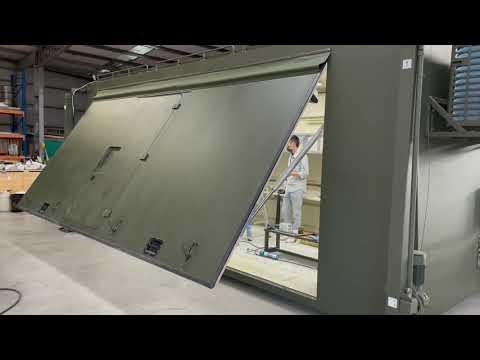安裝實績-電動歐翼門