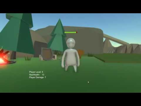 3rd Person RPG teaching Game Design concepts in Unity