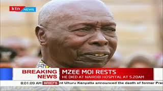 Kenya's second President Daniel Moi dies aged 96
