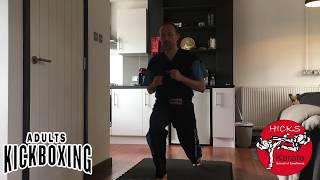 Adults Kickboxing B Day – W/C 4th May 2020