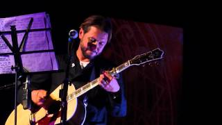 Grant Nicholas (FEEDER) Tender .Acoustic . live at The London Acoustic Guitar Show 2012