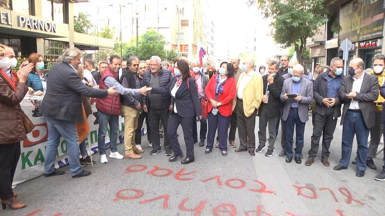 Συγκέντρωση διαμαρτυρίας της ΓΕΝΟΠ – ΔΕΗ