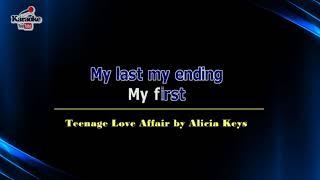 Teenage Love Affair by Alicia Keys (Karaoke)