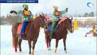 В Подберезском интернате прошел конный праздник