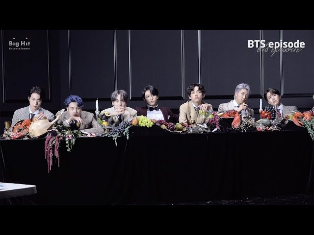 [EPISODE] BTS (방탄소년단) 'MAP OF THE SOUL : 7' Jacket shooting sketch