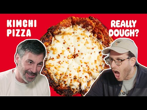 Kimchi Pizza: Is It Still a Pizza If You Eat It With Chopsticks?    Really Dough?