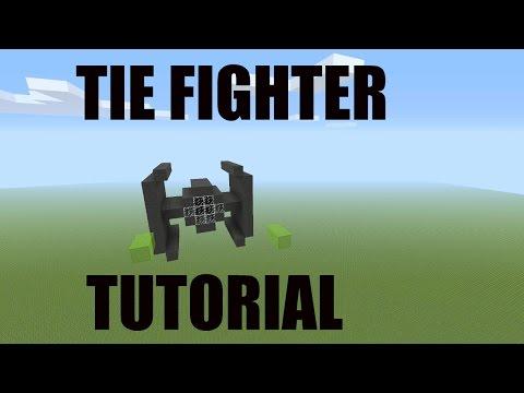 Star Wars Tie Fighter Build & Tutorial Minecraft Project