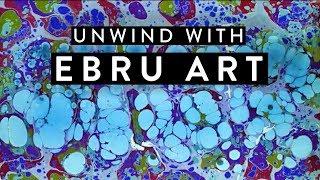 Ebru Art Livestream // TIME FOR YOU TO TAKE A BREAK