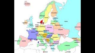 Canción De Los Países Y Capitales De Europa