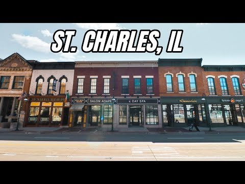 Exploring the Historic Downtown of St. Charles, IL - Main Streets of America Ep. 1