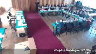 preview picture of video 'VI Sesja Rady Miasta Grajewo - 24.03.2015 r. Część 1'